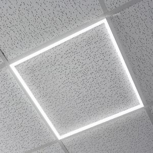 40W Ceiling Suspended Recessed EDGE FRAME LED Panel White Light 600 x 600