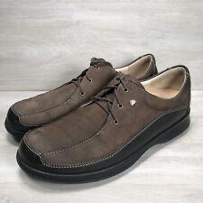 Finn Comfort Acapulco Brown Nubuck Walking Shoes Women's 7.5