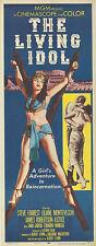 THE LIVING IDOL original 1956 movie poster BONDAGE/LILIANE MONTEVECCHI 14x36