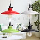 Industrial Retro Chandelier Pendant Hanging Ceiling Light Lamp Shade Fixture