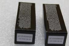 A pair (2) Eiko  JC12V50WH 12V 50W T3-1/2 G6.35 Base