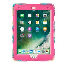 Shockproof Heavy Duty Rubber Hard Stand Case for iPad 9.7 2017/2018 5/6th Gen