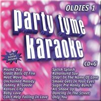 Party Tyme Karaoke: Oldies 1 CD+G Karaoke (CD, Sybersound Records)