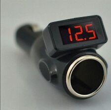 Car Battery Voltage Check Cigarette Lighter Display Diagnostical