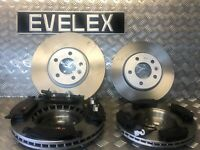 VW Caravelle 2.0TDI  MK5 FRONT & REAR BRAKE DISCS & PADS  2010 ONWARDS
