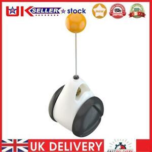 Tumbler Swing Toy Cat Interactive Balance Car Cat Chasing Toy w/Catnip Ball