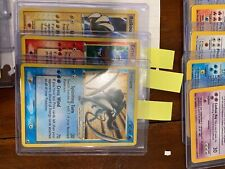 NM Gold star Pokémon Suicune, Entei and Raikou cards