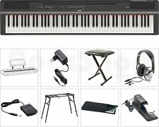 Yamaha P 125 B Digital E-Piano Klavier MEGA SET mit Tisch/Stativ + Kopfhörer NEU