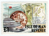 (I.B) Elizabeth II Revenue : Isle of Man £1
