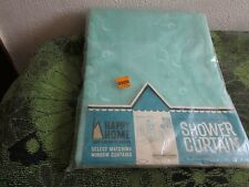 NEW~ VINTAGE WOOLWORTH'S HAPPY HOME TEA/FLORAL BATHROOM SHOWER CURTAIN
