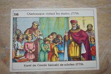 Belgische Geschiedenis - Histoire de Belgique - 16 - Charlemagne visite écoles