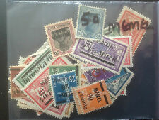 50 Different German States - Memel Stamp Collection