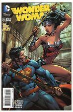 WONDER WOMAN #37 VARIANT 1:100 FINCH SUPERMAN  DC COMICS 2015 NM-
