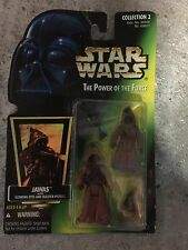 Star Wars Power of the Force Luke Skywalker in Stormtrooper, Jawas & R2D2 Carded
