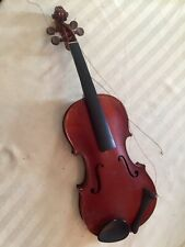ANTIQUE OLD VINTAGE VIOLIN with  Case and 2 Bows