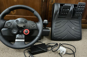 Logitech/Logicool Driving Force GT Steering Wheel & Pedal - Tested/working PS3
