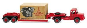 """Wiking 050305 - 1/87 Surbaissée Tracteur (Magirus Deutz ) """" Magirus """" - Neuf"""