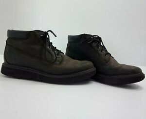 Timberland Womens Lace-Up Boots Size 6W Brown/Black Sensorflex Comfort System
