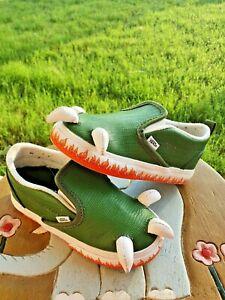 "Vans ""Dinosaur Feet"" Boys' Toddler 8C"