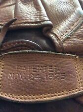 1920'S CHARLES GABBY HARTNETT CHICAGO CUBS HIGGINS CATCHERS MITT THICK SOFT