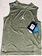 🔥🔥 Boys Micheal Jordan Dri-fit Gray Basketball Shirt 6 or 7 🔥🔥