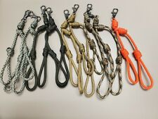 4 Paracord Removable Lanyard Double Loop Call Drops Waterfowl Duck Goose Hunting
