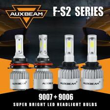 AUXBEAM 9007+9006 LED Headlight Fog Bulbs for Dodge Ram 1500 2500 3500 2002-2005