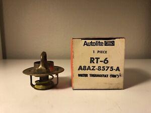 NOS Ford Autolite RT-6 Thermostat 1960 1961-64 Falcon 1962 1963 1964 Fairlane