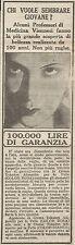 W1477 Crema TOKALON - Pubblicità del 1928 - Old advertising