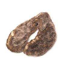 NEW Intelex Warmies Unisex Wolf Fur Lavender Microwavable Neck Warmer Cushion