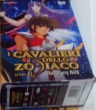 COFANETTO YAMATO VIDEO X DVD I CAVALIERI DELLO ZODIACO SERIE TV BOX 1 SANTUARIO