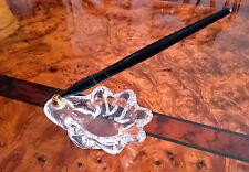 Porte Stylo Vide Poche Cristalerie  DAUM des Années 1950/1960 (Signé)
