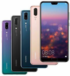 "Huawei P20 128GB 5.8"" 4G LTE Factory GSM Unlocked Smartphone EML-L09 - Grade A+"