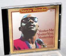 CD STEVIE WONDER-YESTER-me, Yester-You, Yesterday