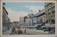1915 Postcard: State St./Downtown-Schenectady, New York