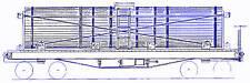 3000 GALLON ROUND WATER CAR HOn3 Model Railroad Craftsman Unpainted Kit TC3906