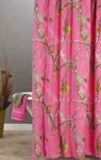 Delicieux REALTREE AP FUCHSIA HOT PINK CAMOUFLAGE SHOWER CURTAIN   CAMO BATH  ACCESSORIES