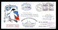 RUSSIAN ANTARCTIC 1995 SHIP MIKHAIL SOMOV + JAMES CLARK ROSS + AGULHAS...BAS