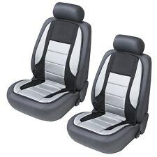 (201) 2 x Sitzheizung Fahrersitz Beifahrersitz beheizbare Sitzauflage Grau