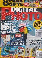 DIGITAL PHOTO MAGAZINE UK MONTHLY JAN 2014, No.1 FOR PHOTOSHOP & CAMERA SKILLS.
