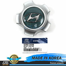 "GENUINE Wheel Center Cap Hub Cover 16"" for 01-06 Hyundai Santa Fe OEM 5296026200"