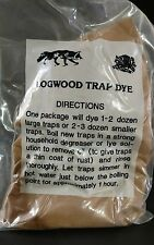 LOGWOOD TRAP DYE 1 POUND BAG TRAPPING DUKE COYOTE BOBCAT FOX