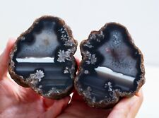 BEAUTIFUL PATTERN !! BANDED AGATE CRYSTAL SPECIMENS - FROM TURKEY