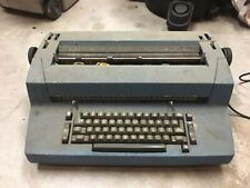 Vtg Blue IBM Selectric II Correcting Typewriter Electric w/ Accessories