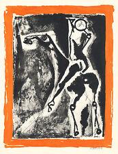 Marino Marini lithograph - 1959