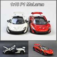 1:18 Scale McLaren P1 Super Sports Car Model Diecast Model Collection New In Box