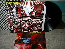 New ListingPennywise-Straight Ahead-Or.1999 Vg+/Nm-Lp/Poster~Lyrics Ins. Nofx/Bad Religion