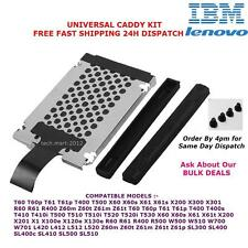 IBM.LENOVO.Thinkpad.HDD.Hard Drive.Cover.Caddy.T400.T500.T60.T61.X60....NEW KIT