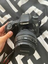 Canon EOS  70d EF-S 85mm Lens Digital SLR Cameras - Black