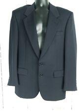 NINO CERUTTI Rue Royale Sz 42R? Dark Navy Blue 2 Button Mens Wool Suit Jacket
